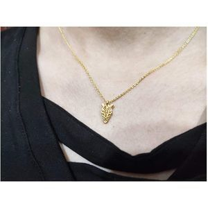 Only Zebra Unique Gold Plated Charm Necklace